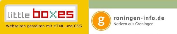 Logos von little-boxes.de und groningen-info.de
