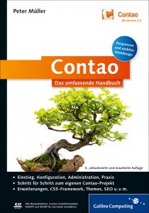 Cover von Contao - Das umfassende Handbuch
