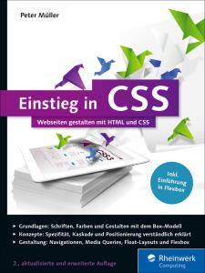 Cover Einstieg in CSS (2. Auflage)