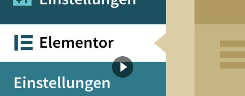 Screenshot - Videokurs zum Pagebuilder Elementor