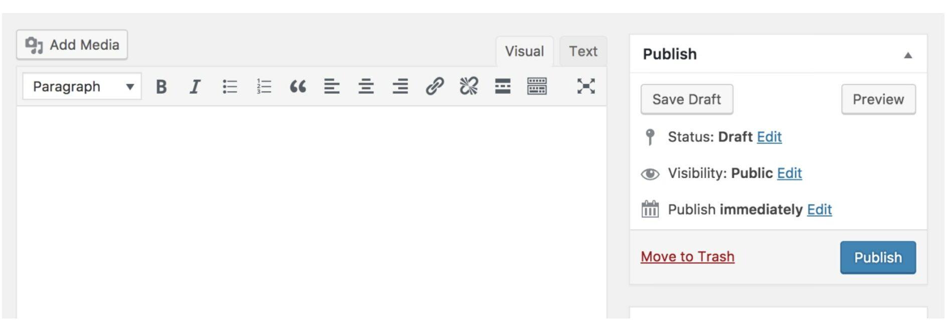 WordPress - Classic Editor