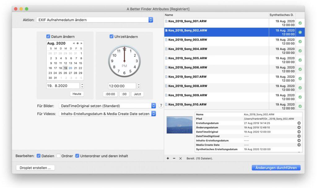 Screenshot - A Better Finder Attributes